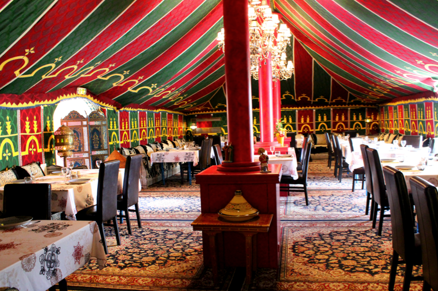 Decoration restaurant oriental